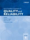 Image for Encyclopedia of Statistics in Quality and Reliability