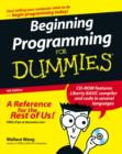 Image for Beginning programming for dummies