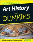 Image for Art history for dummies