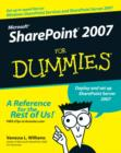 Image for Microsoft SharePoint 2007 for dummies