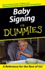 Image for Baby signing for dummies