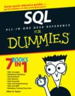 Image for SQL all-in-one desk reference for dummies