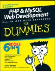 Image for PHP & MySQL Web development all-in-one desk reference for dummies