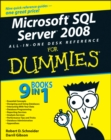 Image for Microsoft SQL Server 2008 all-in-one desk reference for dummies
