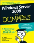 Image for Windows Server 2008 for dummies