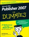 Image for Microsoft Office Publisher 2007 for dummies