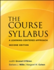 Image for The course syllabus  : a learning-centered approach
