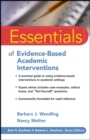 Image for Essentials of evidence-based academic interventions