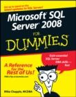 Image for Microsoft SQL Server 2008 for dummies