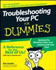 Image for Troubleshooting your PC for dummies