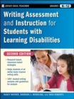 Image for Writing assessment and instruction for students with learning disabilities
