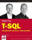 Image for Beginning T-SQL with Microsoft SQL Server 2005 and 2008