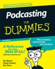 Image for Podcasting for dummies