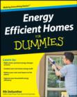 Image for Energy efficient homes for dummies