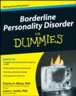 Image for Borderline personality disorder for dummies