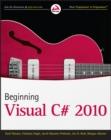 Image for Beginning Microsoft Visual C` 2010