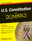 Image for U.S. Constitution for dummies