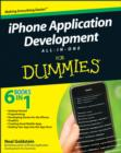 Image for iPhone application development all-in-one for dummies