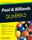 Image for Pool & billiards for dummies