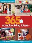 Image for 365 days of scrapbooking ideas