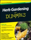Image for Herb gardening for dummies