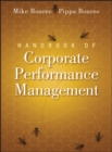 Image for Handbook of corporate performance management