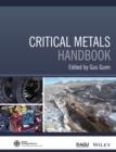 Image for Critical metals handbook