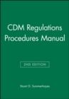 Image for CDM regulations procedures manual