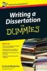 Image for Writing a dissertation for dummies