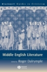 Image for Middle English literature: a guide to criticism