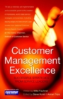 Image for Customer management excellence  : successful strategies from service