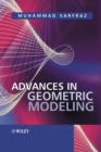 Image for Advances in geometric modeling