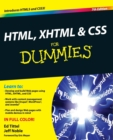 Image for HTML, XHTML & CSS for dummies