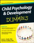 Image for Child psychology and development for dummies