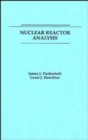 Image for Nuclear Reactor Analysis