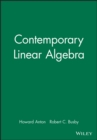 Image for MAPLE Technology Resource Manual to accompany Contemporary Linear Algebra