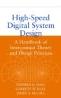 Image for High speed digital system design