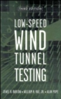 Image for Low speed wind tunnel testing