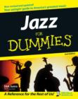 Image for Jazz for dummies