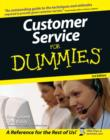 Image for Customer service for dummies