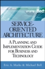 Image for Executive's guide to service-oriented architecture  : Eric A. Marks, Michael Bell
