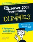 Image for Microsoft SQL Server 2005 programming for dummies