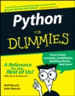 Image for Python for dummies