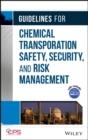 Image for Guidelines for chemical transportation risk assessment