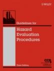 Image for Guidelines for hazard evaluation procedures