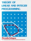 Image for Theory of linear and integer programming