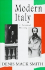 Image for MODERN ITALY: A POLITICAL HISTORY