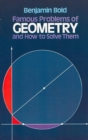 Image for Famous Problems in Geometry and How to Solve Them