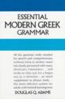 Image for Essential Modern Greek Grammar