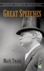 Image for Great speeches by Mark Twain